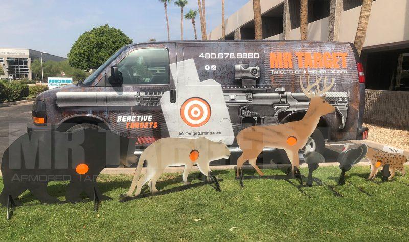 mrtarget-bear-cougar-deer-turkey-bobcat-predator-animal-reactive-steel-shooting-hunting-target-ar500-ar550