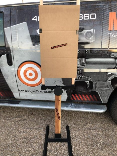 paper-target-bracket-for-cardboard-and-paper-shooting-targets-mrtarget-pistol-rifle-sniper-prs-range-ar500-ar550-paper-stand-hunting-armored-reactive-armored-base-wood-base